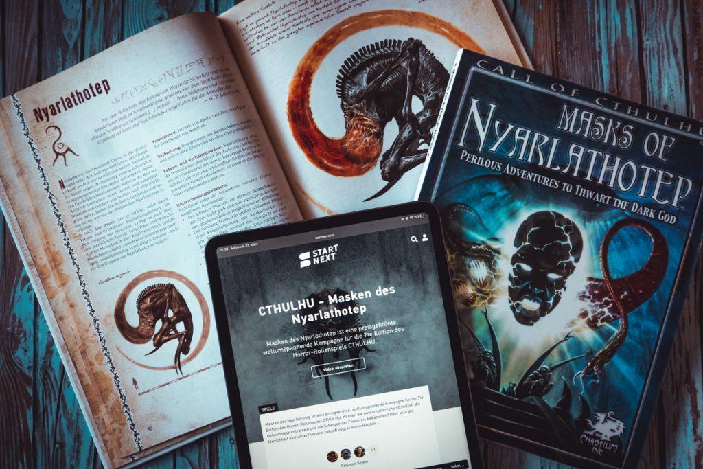 Folge 13 – Masken des Nyarlathotep – Cthulhu-Spezial mit Heiko Gill